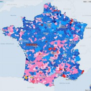 carte élections France 2015