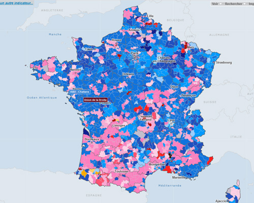 carte de France Archives   Cartographie interactive statistique