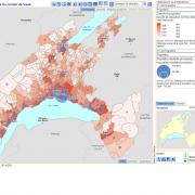 Atlas statistique du Canton de Vaud (Suisse)