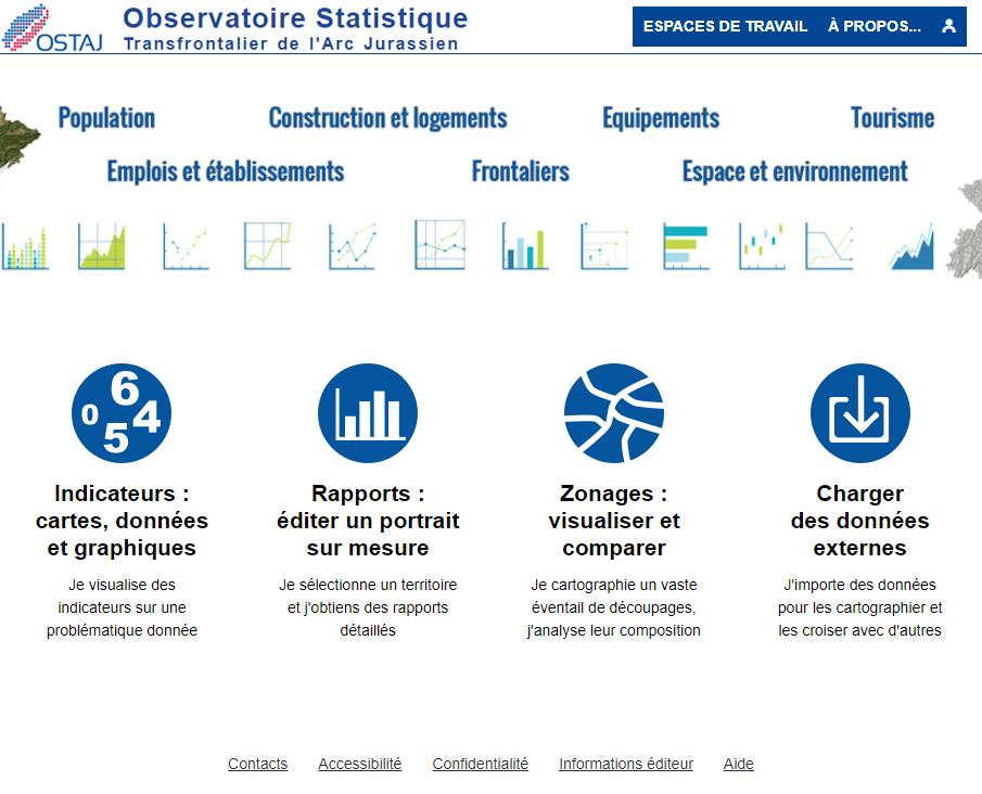 Observatoire Statistique Transfrontalier de l'Arc Jurassien - Page d'accueil
