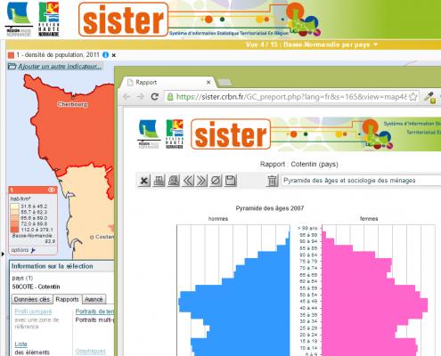Sister - conseil régional de Basse Normandie