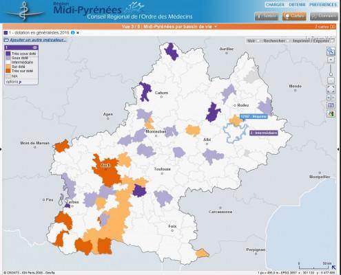 Conseil régional de l'ordre des médecins de Midi-Pyrénées