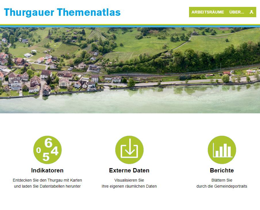 Atlas du canton de Thurgovie - Page d'accueil