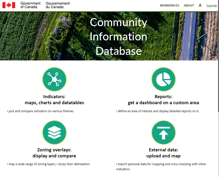 Community Information Database (Government of Canada) - Home