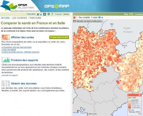 Ops@map : taux de natalité