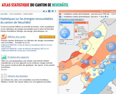 Atlas statistique du canton de Neuchâtel