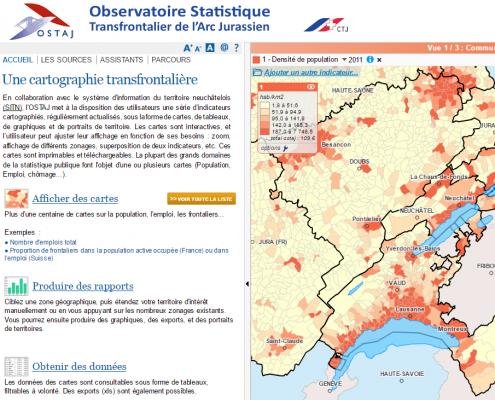 Observatoire statistique transfrontalier de l'arc jurassien