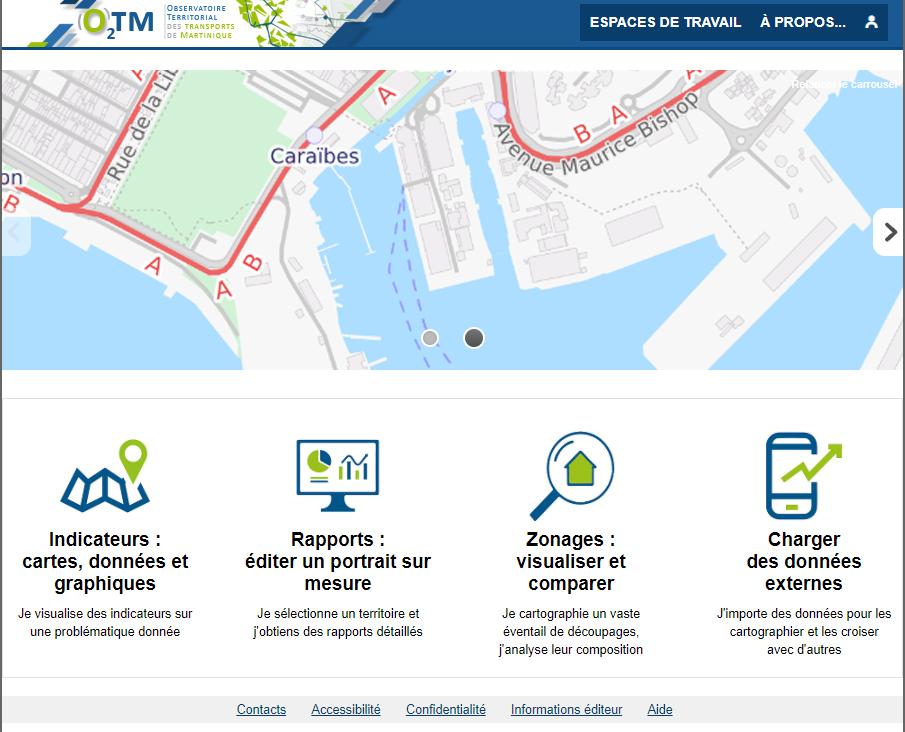 Observatoire Territorial des Transports de Martinique - Accueil