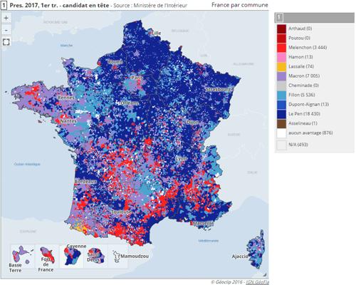 cartographie électorale