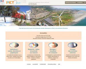 PictoStat : page d'accueil