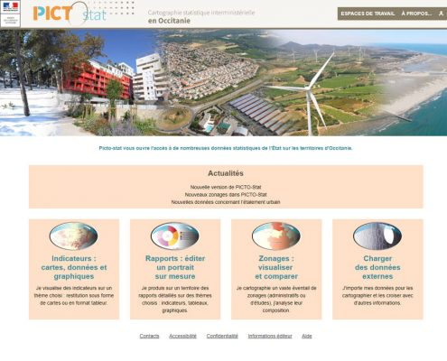 PictoStat : home page