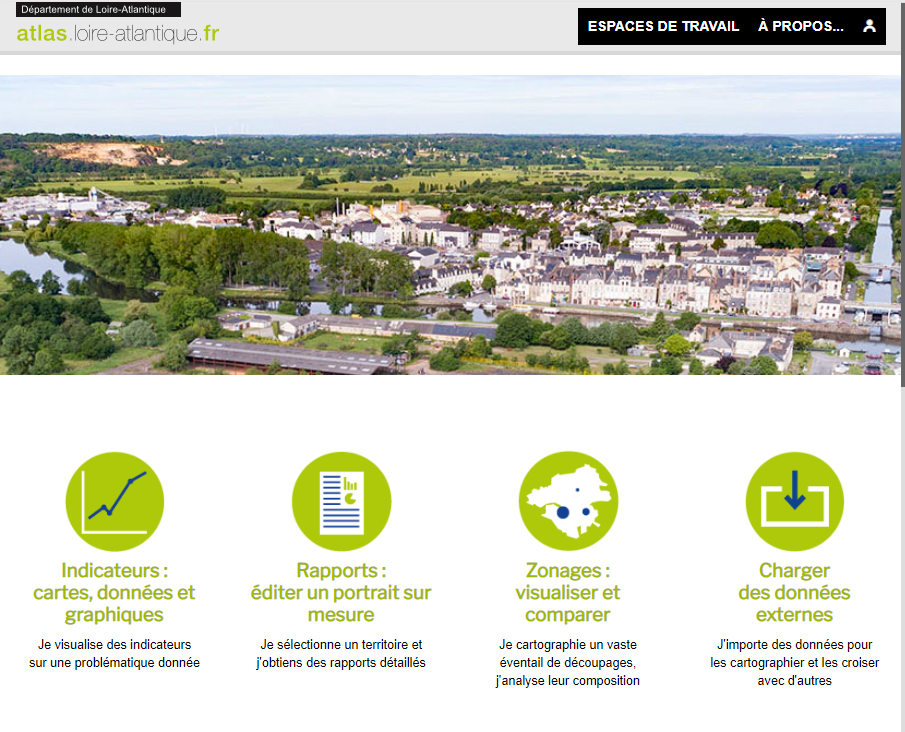 Atlas de Loire-Atlantique - Page d'accueil