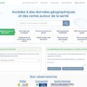 CartoSanté : accès depuis Atlasanté