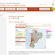 Sigena : accès à la cartographie statistique