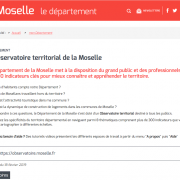 Observatoire Moselle site
