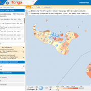 PopGis3 Tonga detailed map
