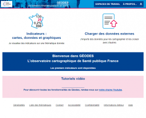SPF Géodes : page d'accueil
