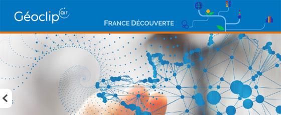 Géoclip France découverte