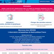 Géodes homepage