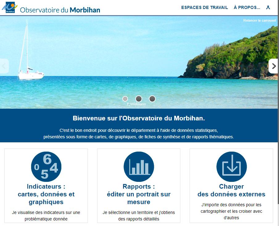 Observatoire du département du Morbihan - Page d'accueil