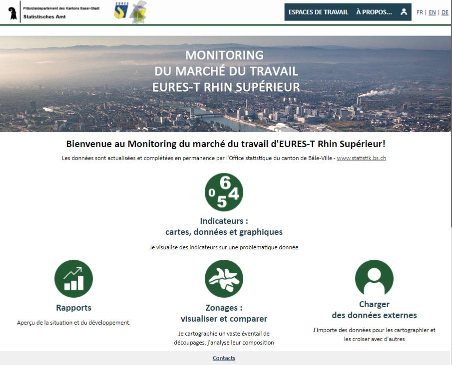 Observatoire du marché du travail - Page d'accueil