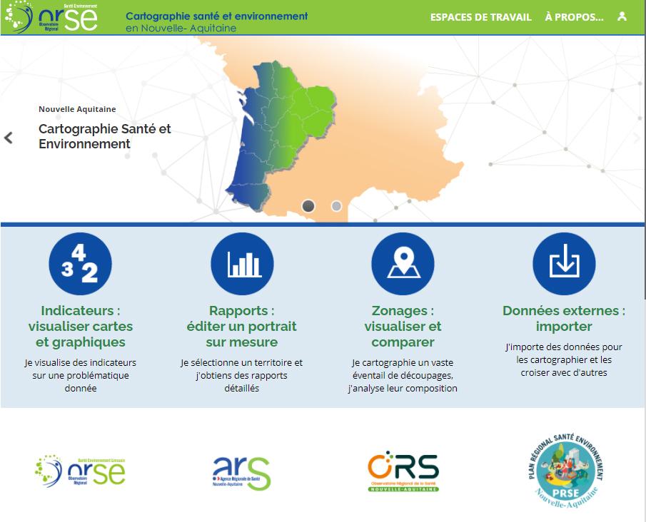 Observatoire Régional Santé Environnement - Page d'accueil