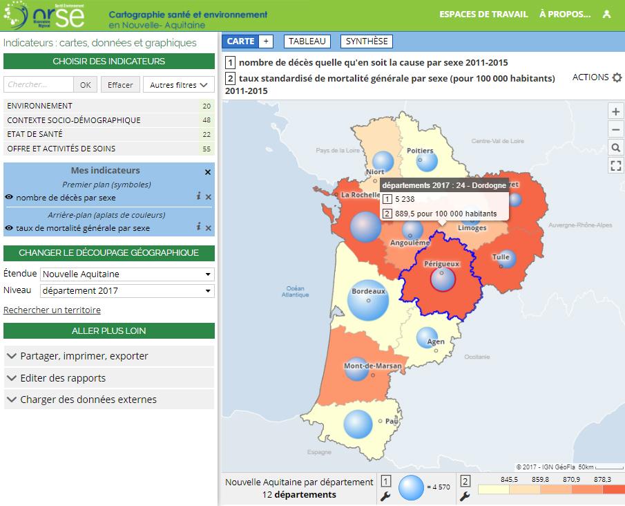 Observatoire Régional Santé Environnement - Mortalité