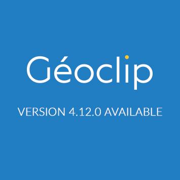 Géoclip 4.12.0 is available